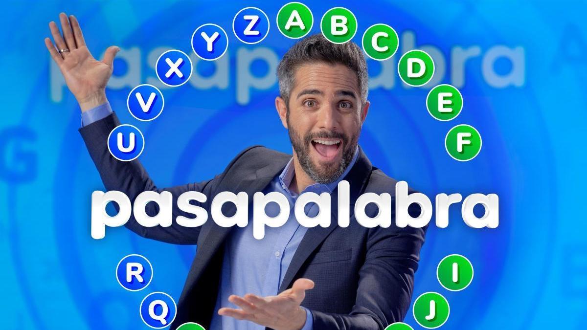 Roberto Leal, en un a promoción de 'Pasapalabra'.
