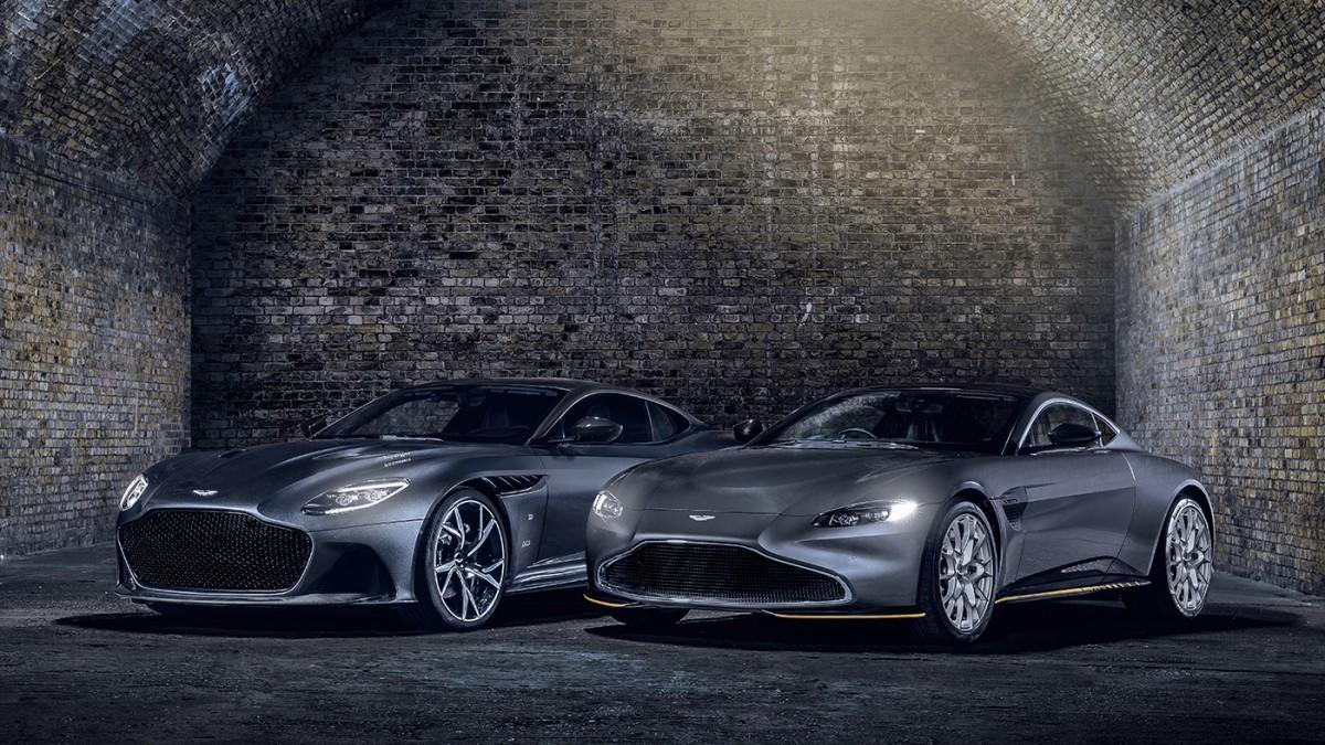 Aston Martin lanza los Vantage y DBS Superleggera 007 Edition