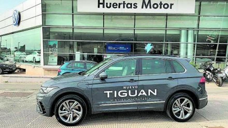 Huertas Motor recibe el nuevo Volkswagen Tiguan eHybrid