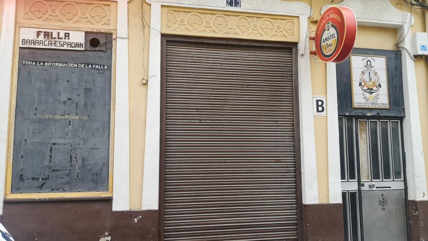 Una falla denuncia que se va a la calle por la falta de noticias del Ayuntamiento