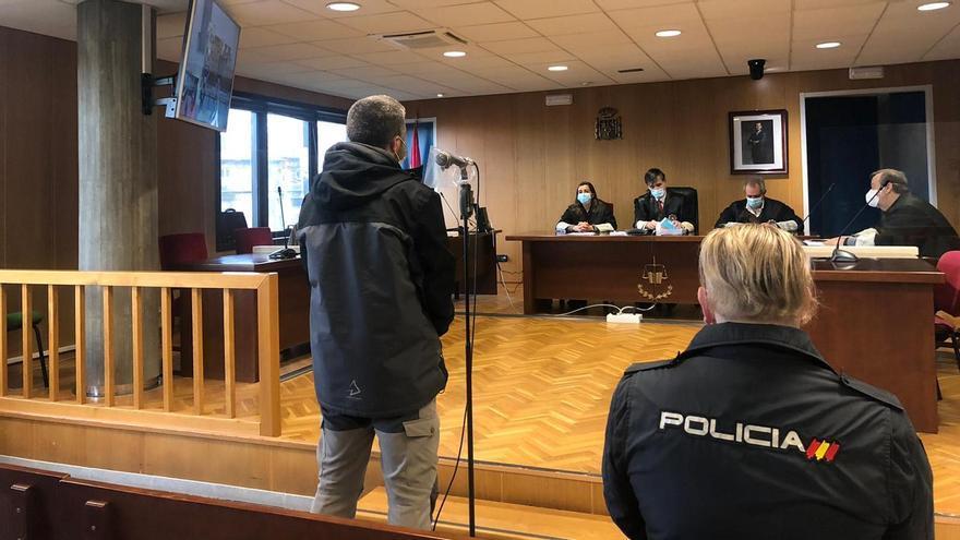 Cuatro años de cárcel para un traficante de heroína que embistió a un policía en Vigo