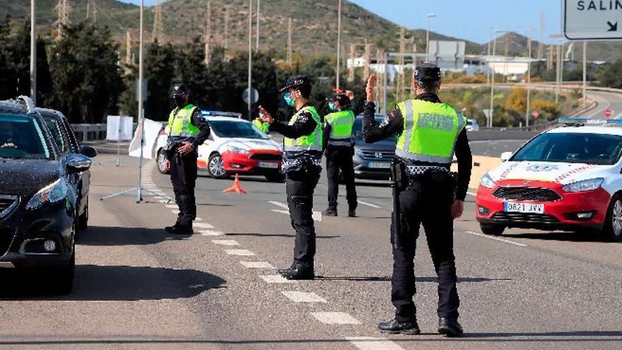 Una Semana Santa con apenas multas por el cierre perimetral