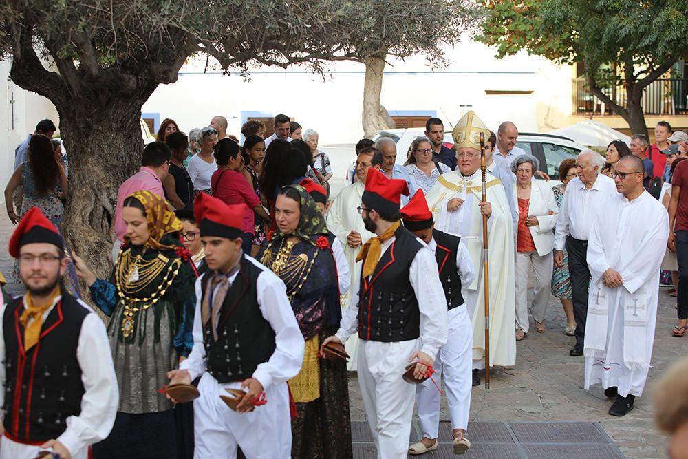 Procesión de la Virgen del Carmen en Sant Antoni