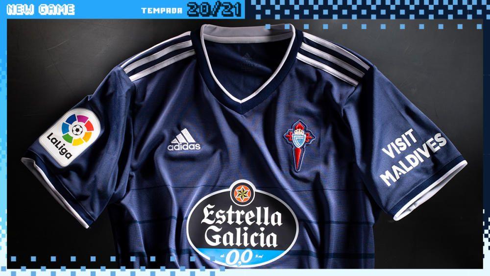 Nuevas camisetas del Celta de Vigo
