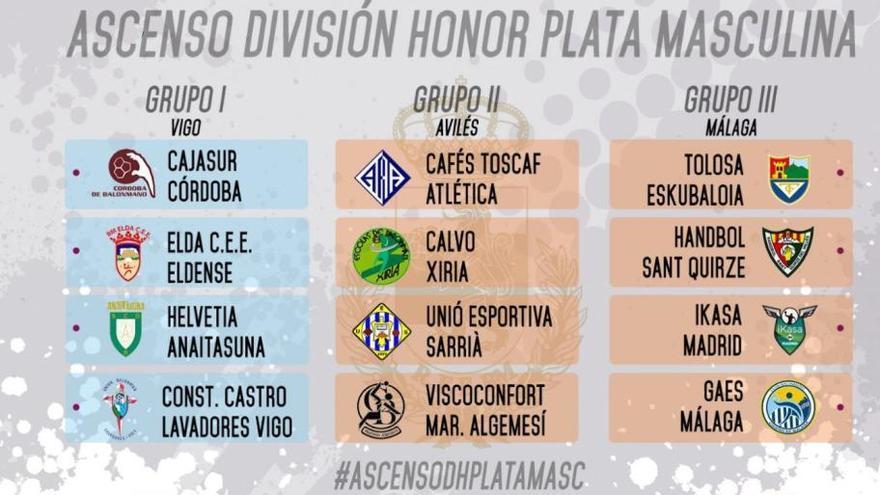 El GAES jugarán en Málaga la fase de ascenso
