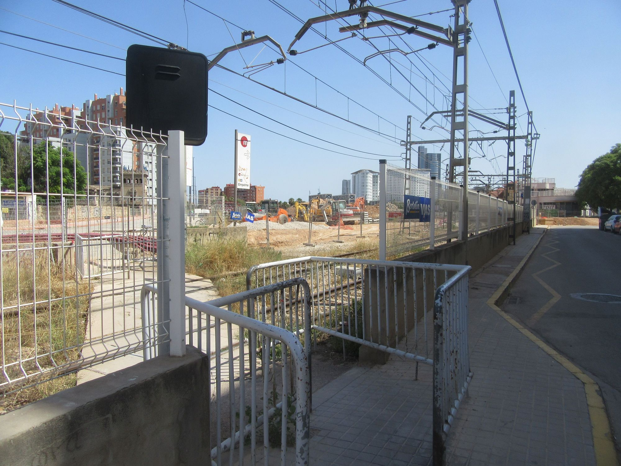 Inminente corte del metro en Burjassot