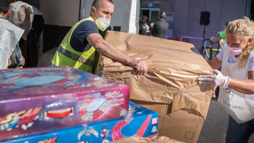 Tenerife se vuelca con los desfavorecidos
