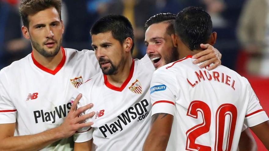 Un efectivo Sevilla remonta al Celta y toma impulso