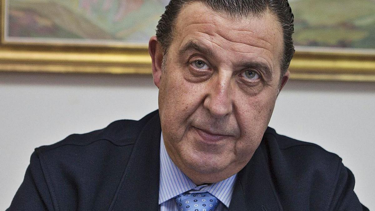 Antonio Vega, presidente del Colegio Oficial de Agentes de la Propiedad Inmobiliaria de Asturias. | F. R.