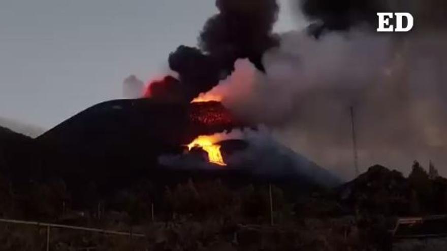 Copernicus amplía a 889 las hectáreas arrasadas por la lava del volcán de La Palma