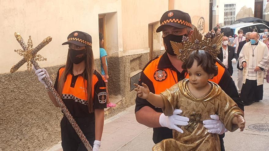 Trasladan sin romería la imagen del Niño de Mula hasta la parroquia de Santo Domingo