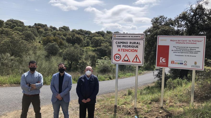 La Diputación invierte 34.000 euros en infraestructuras de Villaharta