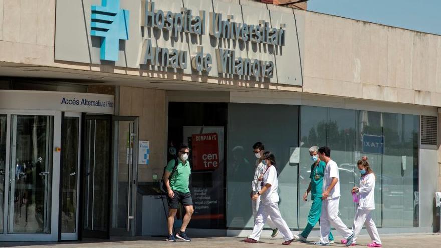 El hospital de Lleida, en la comarca del Segrià.