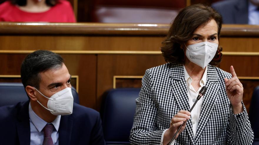 """Calvo acusa al PP de utilizar la sesión de control para hacer """"un mitin del 4 de mayo"""""""