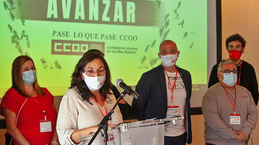 Consuelo López se convierte en la primera mujer al frente de un sindicato en las Pitiusas