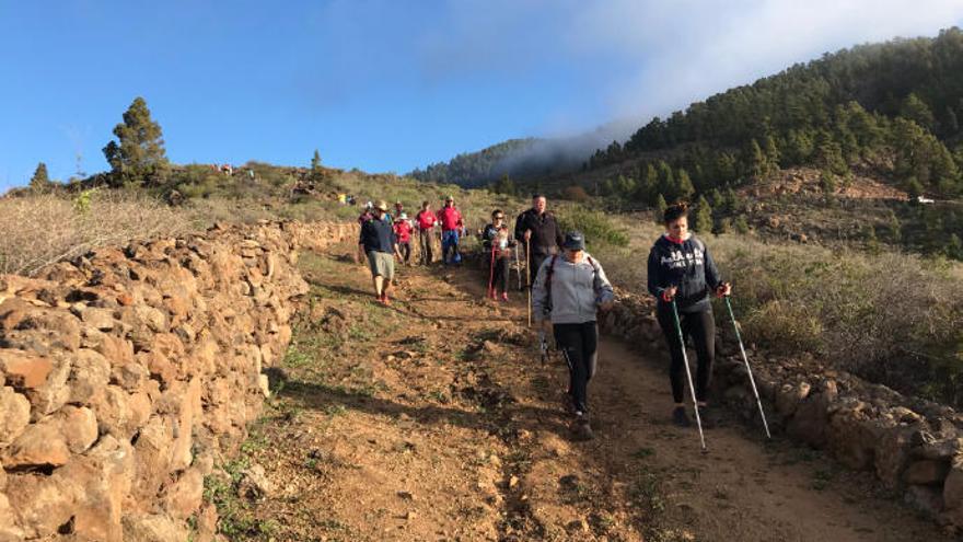 Unos 1.500 peregrinos por la Ruta del Camino del Hermano Pedro