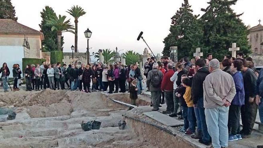 Hoy se valorarán los resultados de la primera fase de la exhumación de la fosa de Porreres