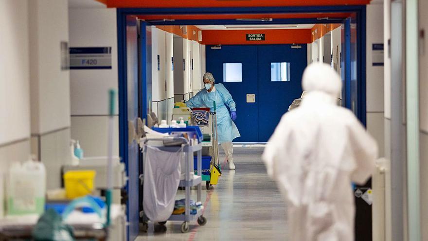 El 75% de los enfermos  de la planta Covid han negativizado el virus