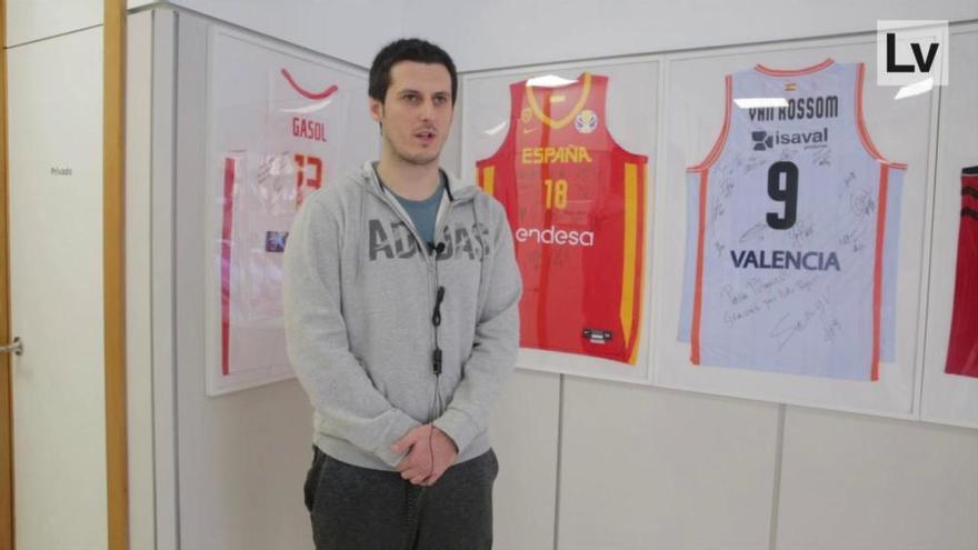 """Jordan Sospedra: """"La carga de trabajo entre la NBA y Europa no es muy diferente"""""""