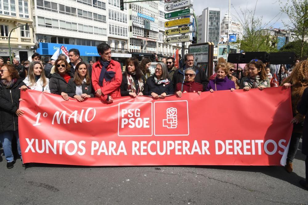 """Los sindicatos piden """"no fallar"""" a la """"izquierda"""" que votó en estas elecciones e instan a """"recuperar"""" derechos ."""