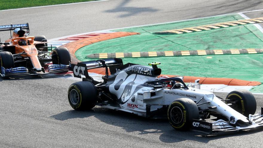 Sainz frega el triomf a Monza amb una històrica segona posició