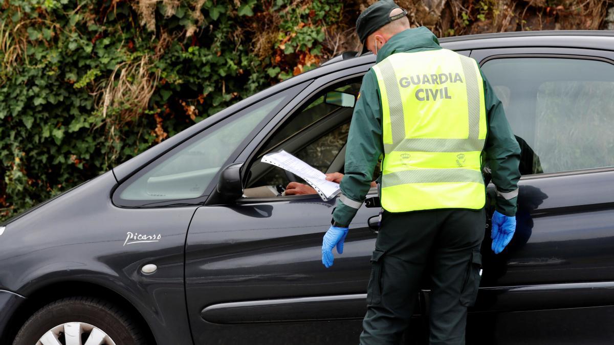La Guardia Civil detiene a un vecino de Abegondo buscado en Francia tras 26 kilómetros de fuga