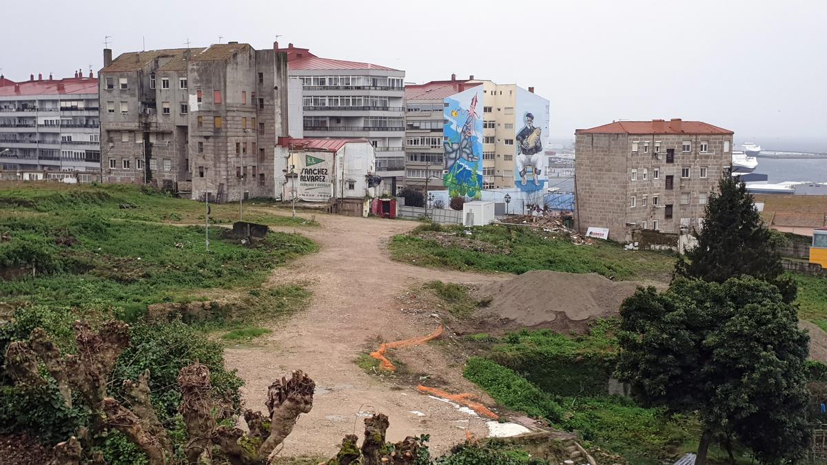 Vista general del Barrio do Cura