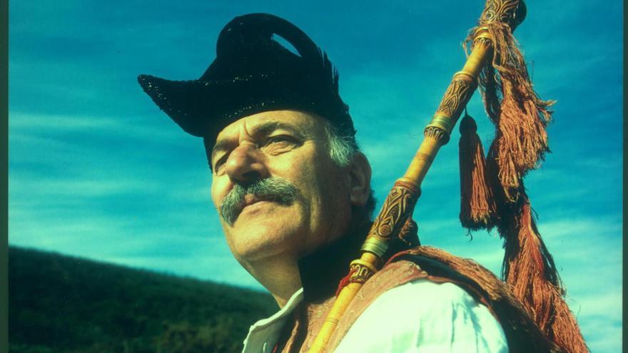 El gaiteiro tradicional Pepe Temprano fallece a los 80 años