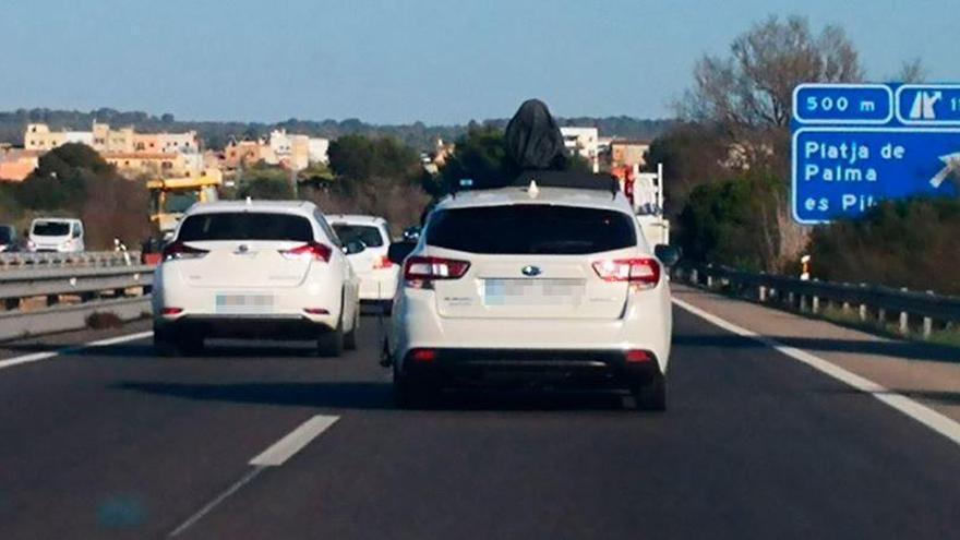 Fahrzeuge von Apple Maps vermessen Mallorca