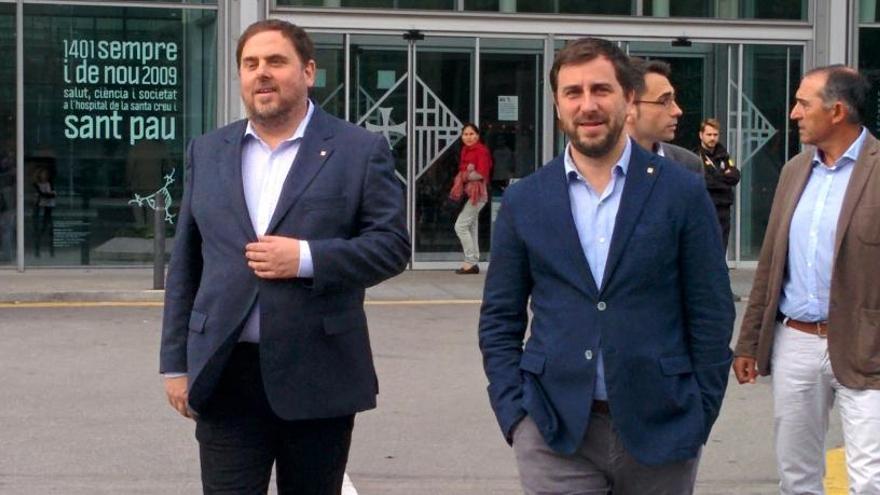 Junqueras y Comín podrán participar en el debate de TV3