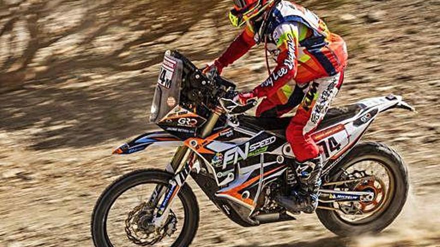 Jaume Betriu s'aproxima al Top-20 en motos