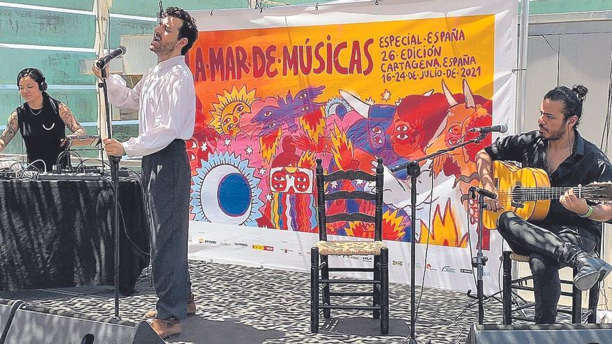 Vicente Navarro hace gala de su arte para la fusión
