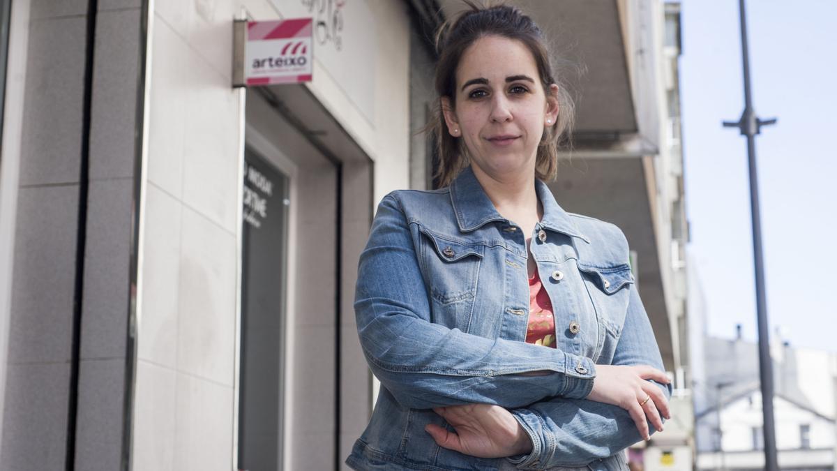 Ángela Sánchez, presidenta del CCA Arteixo