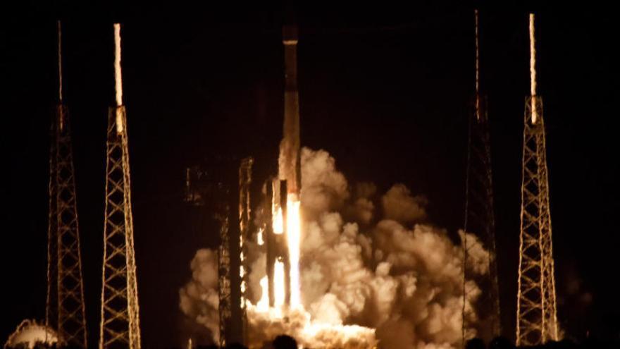 Despega Atlas V con la misión europea que estudiará el Sol
