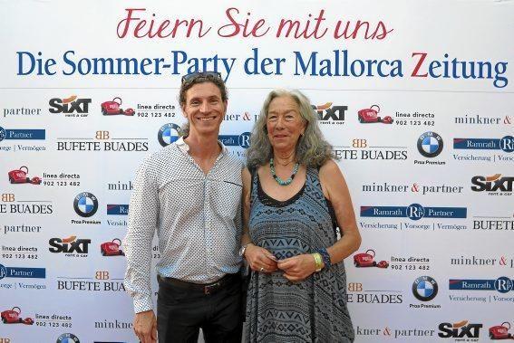 MZ-Redakteur Frank Feldmeier und Gabriela Maetschke