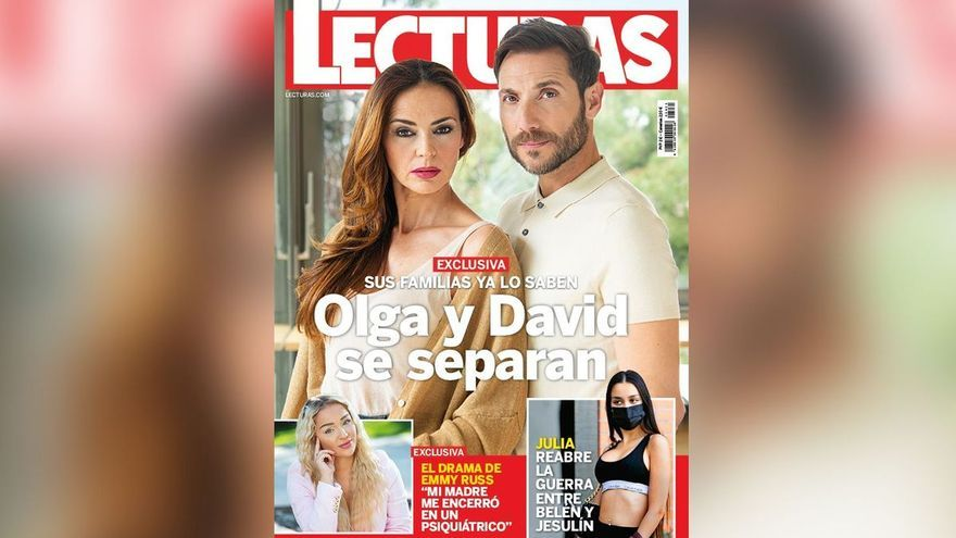 Antonio David Flores i Olga Moreno se separen