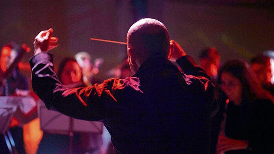 Konzert mit Lichtshow in Palmas Basilika Sant Francesc