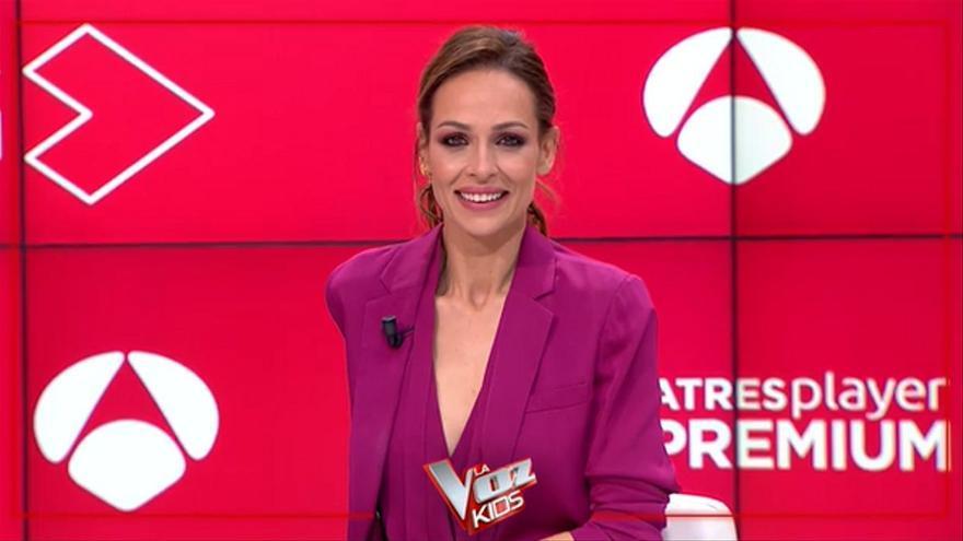 """Eva González presenta la nueva edición de 'La Voz Kids': """"Con la audiencia estoy tranquila porque tenemos un formatazo"""""""