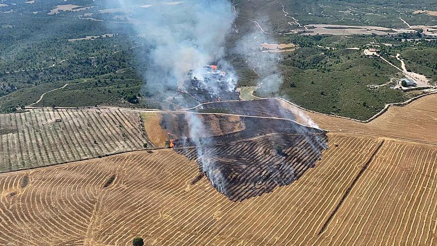 Sofocan un incendio en Moratalla que hizo saltar todas las alarmas