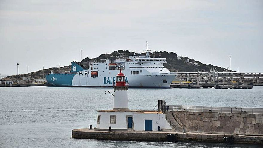 Baleària ofrece test de antígenos a los pasajeros que viajen a Baleares