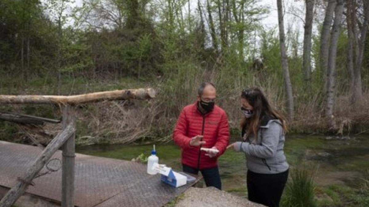 Els ciutadans de 12 comunitats mesuraran l'estat de les aigües.