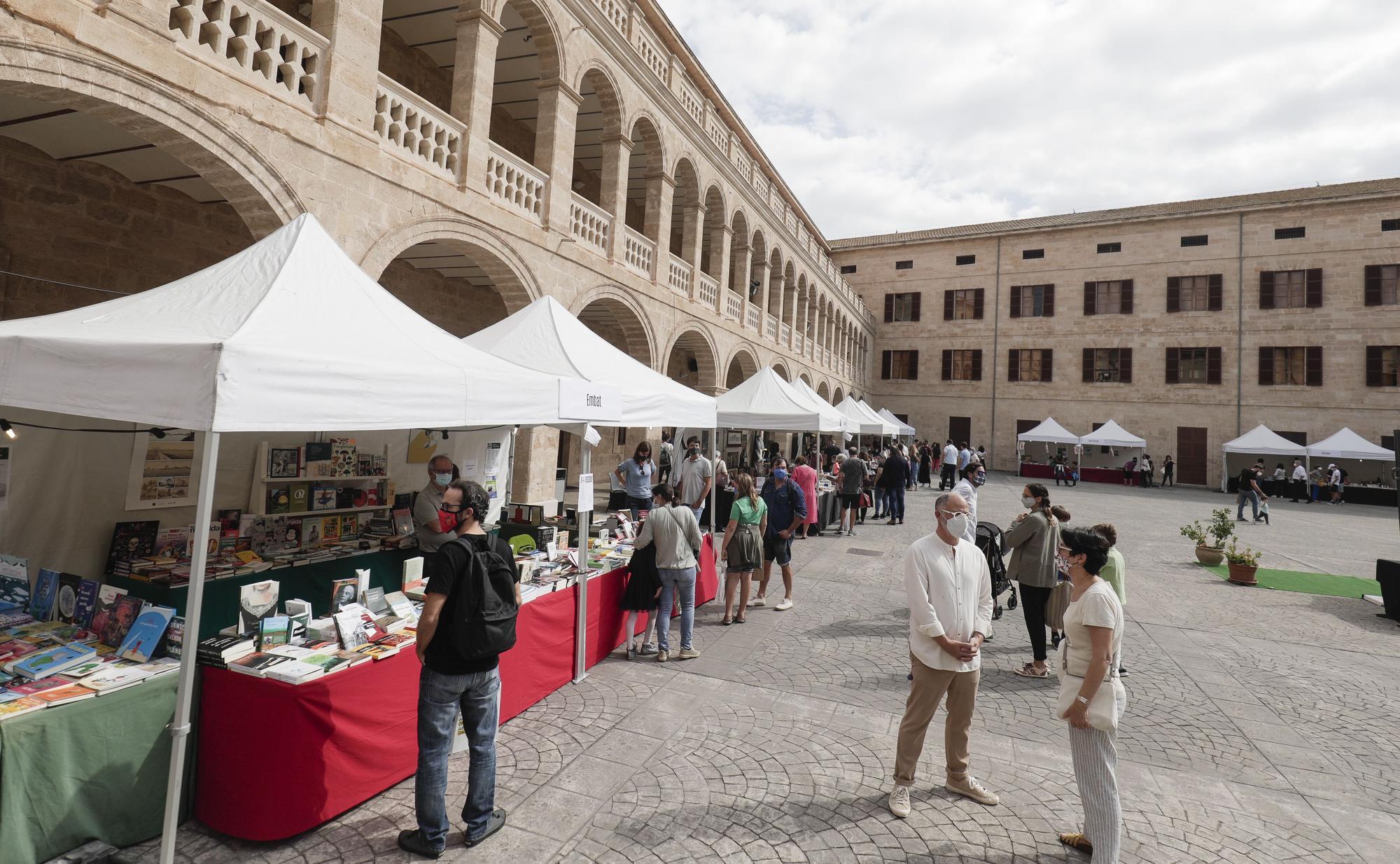 Palma celebra la Fira del Llibre