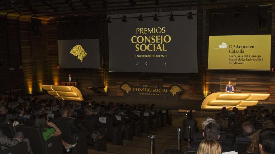 El Consejo Social de la UA premia a Casa Mediterráneo y al Grupo Verne