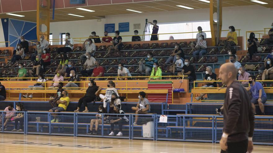 El Balonmano Zamora solo podrá admitir 174 espectadores el domingo