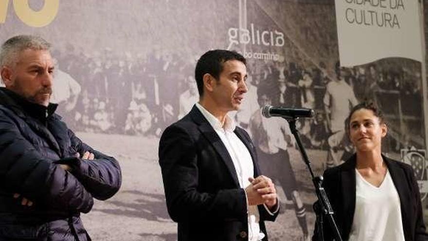 A Cidade da Cultura abre sus puertas a 142 años de fútbol gallego