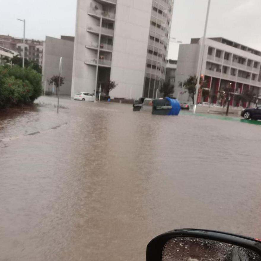 Inundación en Torrent