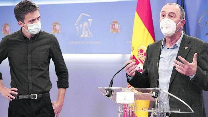 Baldoví aprieta para que los partidos aprueben la reforma de la financiación