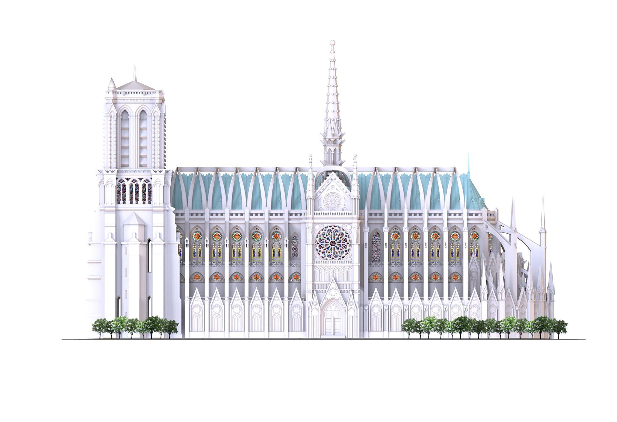El espectacular proyecto de un ingeniero de Nules para reconstruir Notre Dame