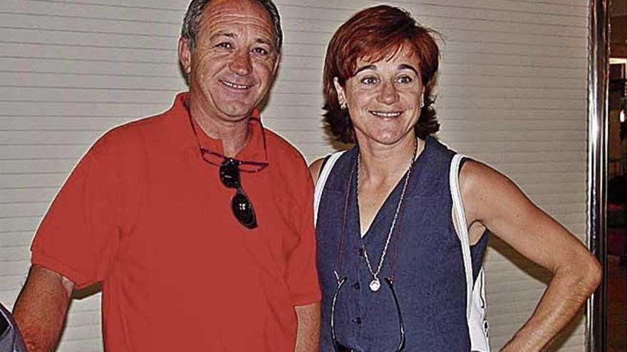 Blanca Fernández Ochoa jugó al golf y acudió a la Copa del Rey de Vela