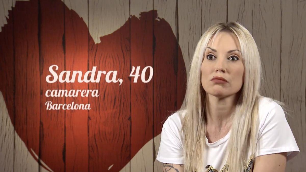 Sandra, en 'First Dates'.